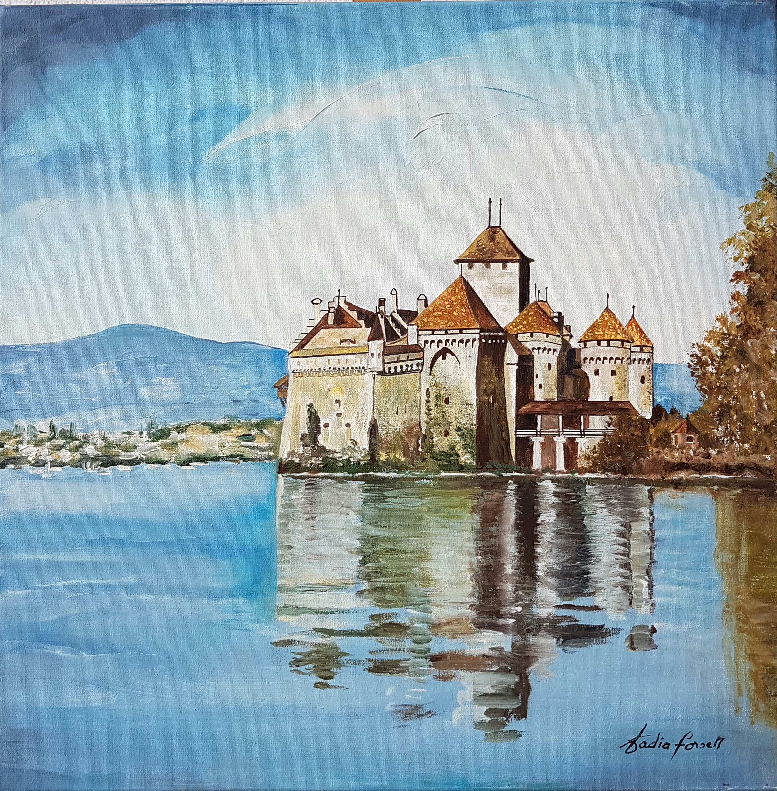 Nadia Forsell - Le Chateau de Chillon.jpg