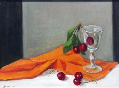 Vanya Ferrara, Les cerises, 30x40, Oil_Canvas_edited.jpg