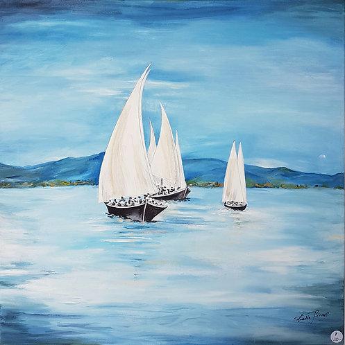 Le Leman et ses vieilles barques - N.Forsell