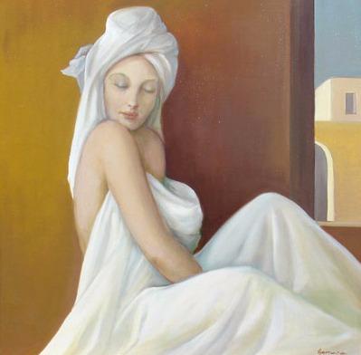 Vanya Ferrara, Tot le matin, 70x70, Oil_Canvas_edited.jpg
