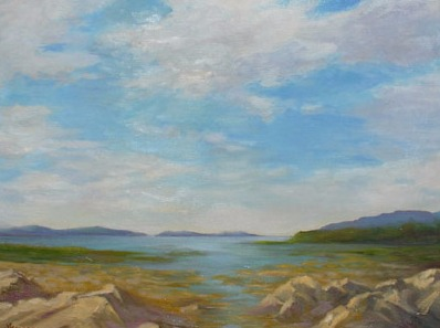 Vanya Ferrara, Quelquepart dans le Connemara, 60x65, Oil_Canvas_edited.jpg