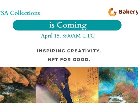 TSA Collections Drops CaoJunNFT Collectibles on BakerySwap at 5:00pm EST on April 15, 2021.