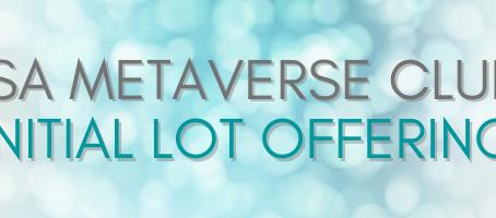 TSA Metaverse Studio Launching Initial Lot Offering