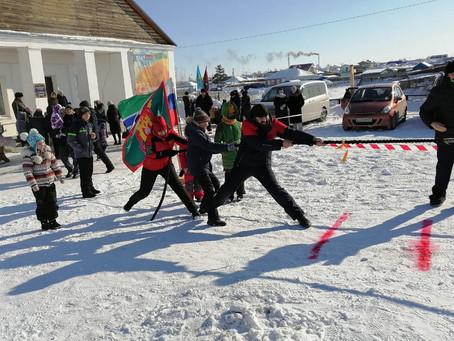 Берегут традиции в Усть-Тарке