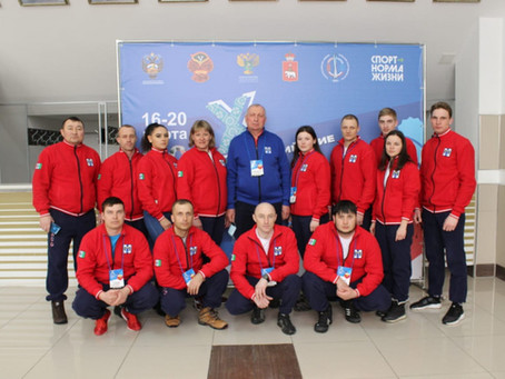 Наши спортсмены на Х Всероссийских зимних сельских спортивных играх