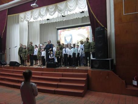 Концерт памяти отцов  и дедов