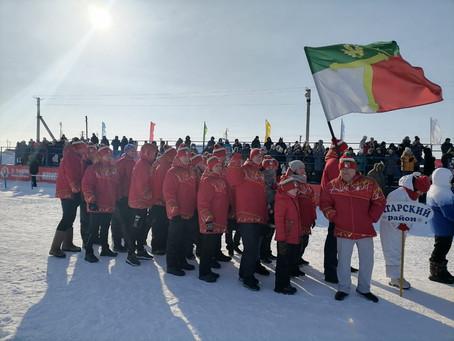 Поздравляю команды Татарского и Чистоозёрного районов!