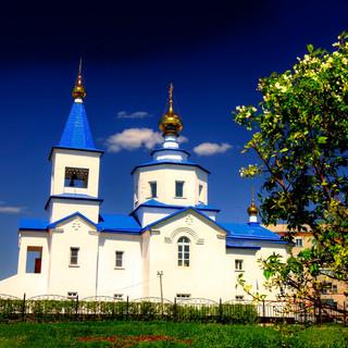 Покровская  церковь в  Татарске