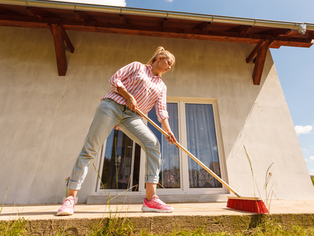 Spring Cleaning, Not just for inside your house