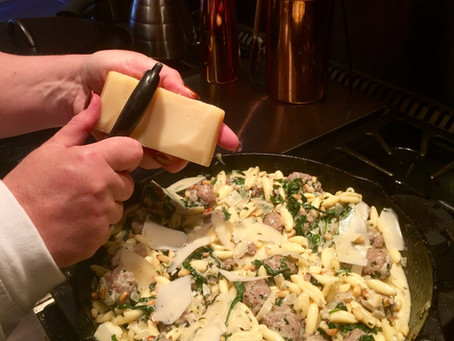 Cooking Cordiale - Cavatelli With Sausage And Pine Nuts