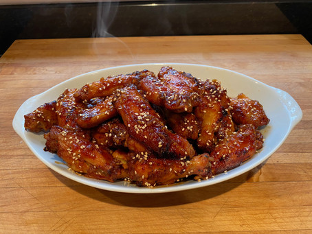 Korean Christmas Kick - Sticky Spicy Wings
