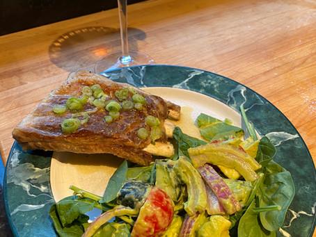 Everybody Needs A Rita - Margarita Ribs And Avocado Salad