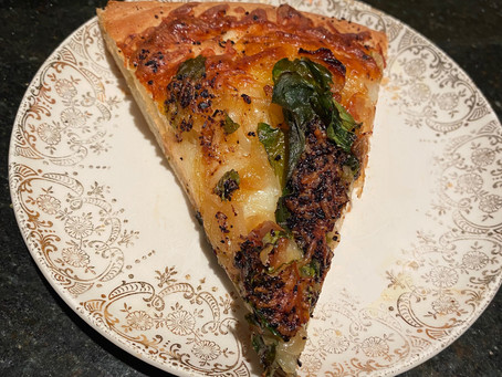 Corona Comfort - Caramelized Onion and Spinach Focaccia