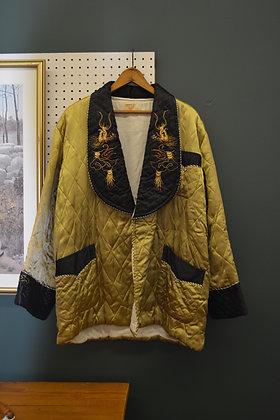 Vintage Japanese Smoking Jacket