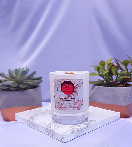 Black Pomegranate Soy candle