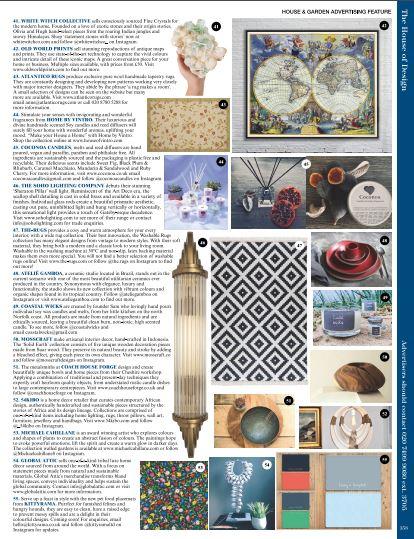 House & Garden Magazine September 20