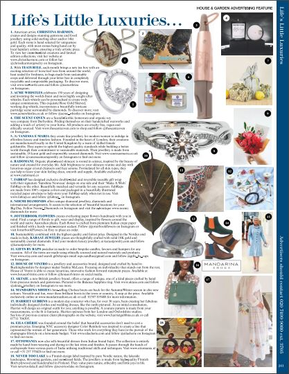 H&G OCT 2020 LIFES LITTLE LUXURIES