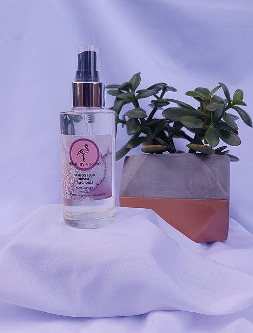 Damson Plum, Rose & Patchouli Room Spray