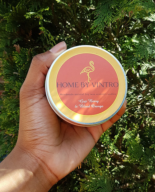 Goji Berry & Blood Orange Soy candle (CLEARANCE)