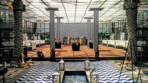 Park Hyatt Dubai - Ramadan Structure at Palm Garden