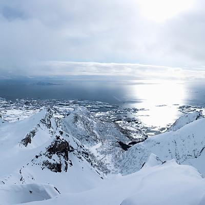 Wilde Lofoten für Bergpunkt