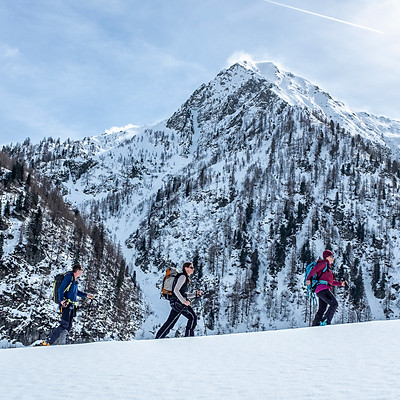 Skitouren im Val di Campo