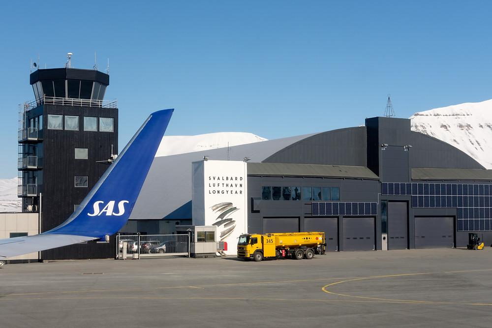 Flughafen von Svalbard