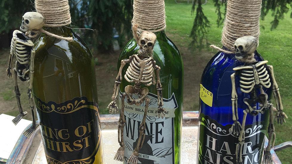 Detailed Wine Bottle