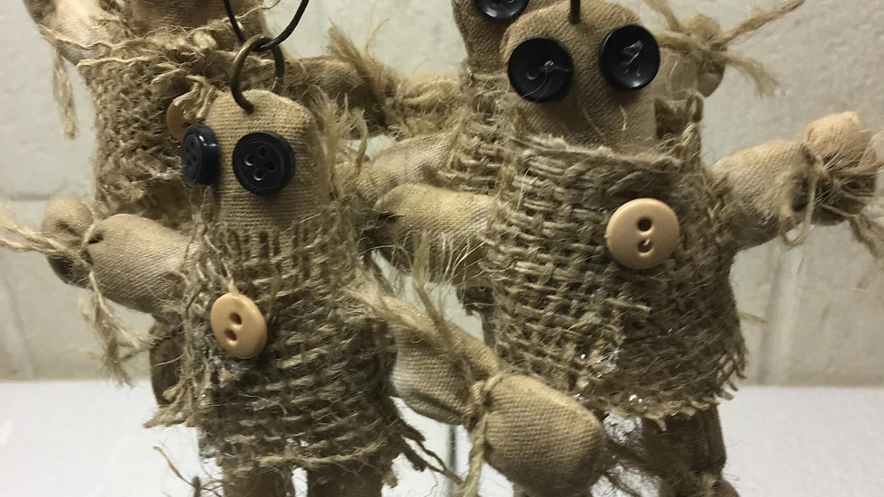 Voodoo Doll Pendants