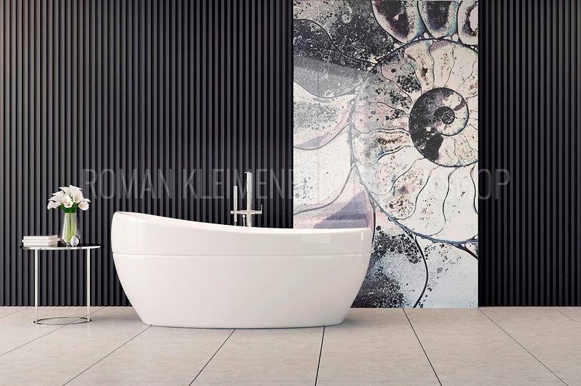 Трилобит | художественный принт| ванная | цена м2