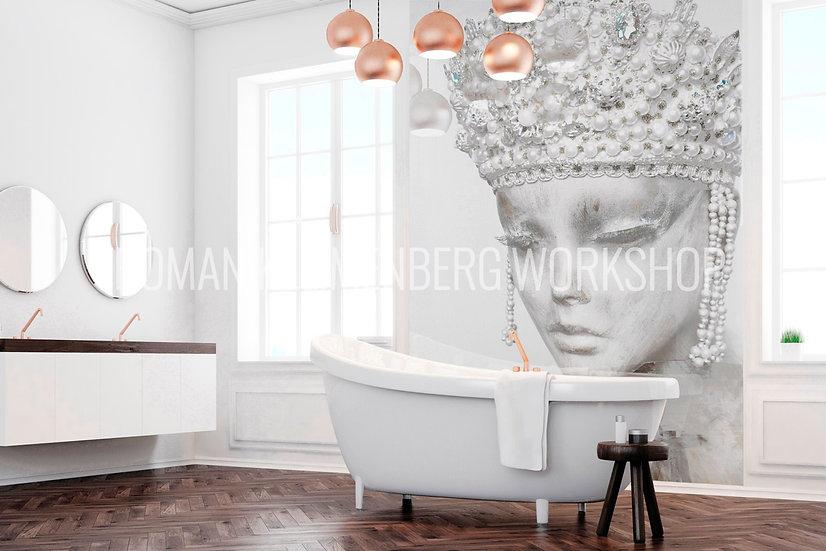 Образ | художественный принт| ванная | цена м2