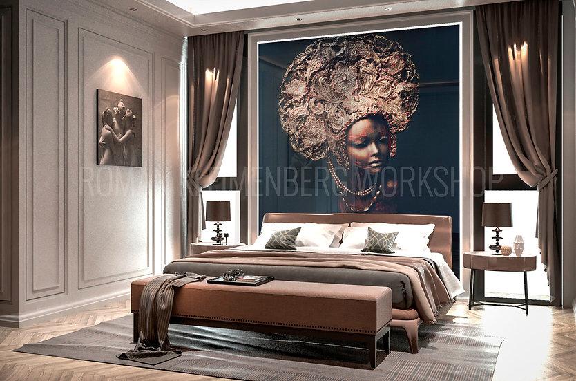 Образ | художественный принт| спальня | цена м2