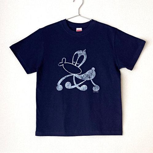 サイエンスSARU Tシャツ (ネイビー×ホワイト/S・M・L)