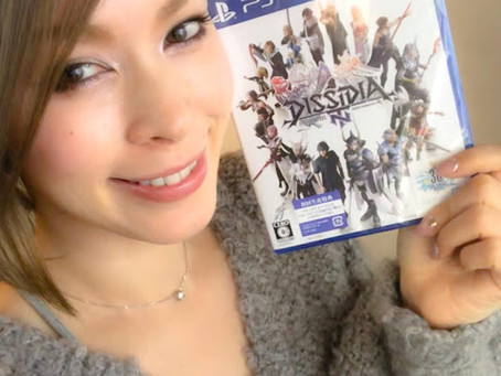 PS4『DISSIDIA FINAL FANTASY NT』発売!!Let's play;)〜クリスVocalの曲紹介しちゃうぞっ①『Massive Explosion』〜