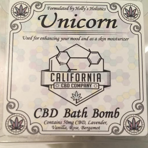 50mg CBD Bath Bomb Unicorn