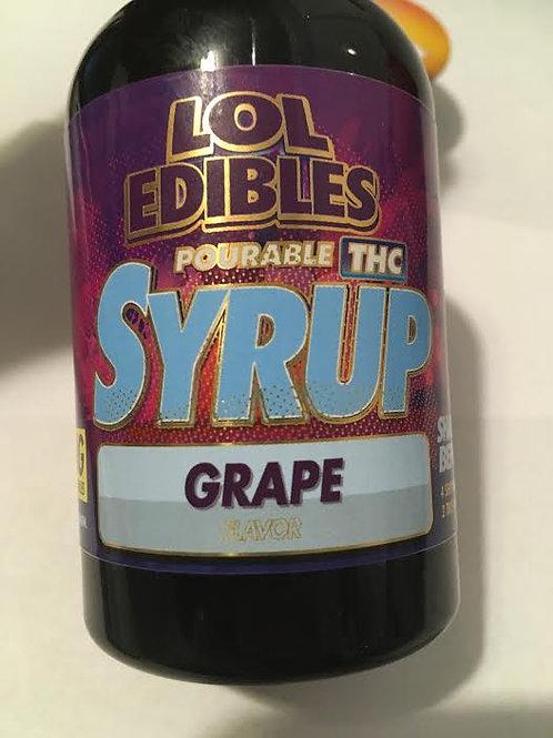 Lol Edibles 500mg THC Grape syrup