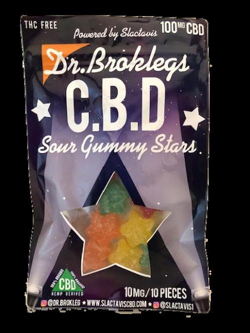 CBD Sour Gummy Stars