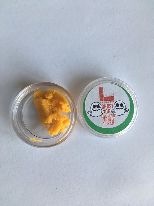 Lifted Extracts Ghost OG 1G Crumble