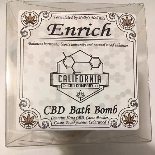 50mg CBD Bath Bomb Enrich