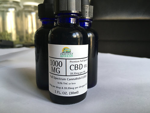 1000 MG CBD oil Tincture