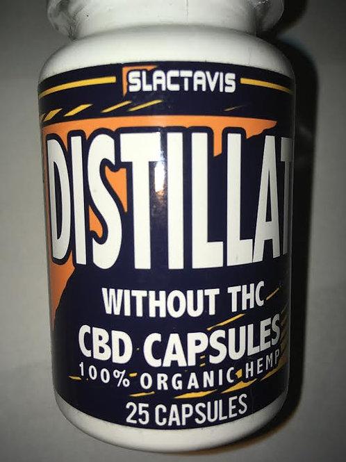Slactavis Distillate CBD 25mg capsules