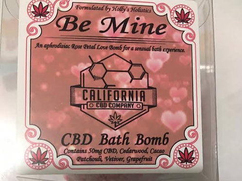 50mg CBD Bath Bomb Be Mine