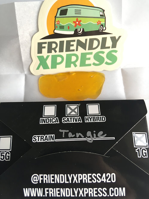 Friendly Extracts Tangie 1G Shatter