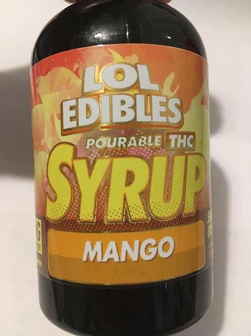 Lol Edibles 500mg THC Mango syrup