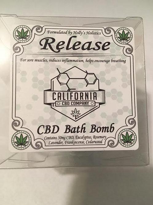 50mg CBD Bath Bomb Release