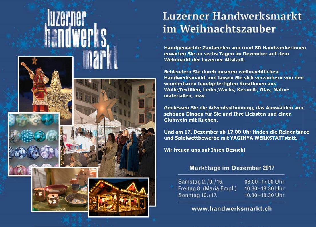 Luzerner Weihnachts- & Handwerksmarkt (DE)