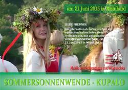 21.06.2015 - SOMMERSONNENWENDE 2015 in Meinhard  DE