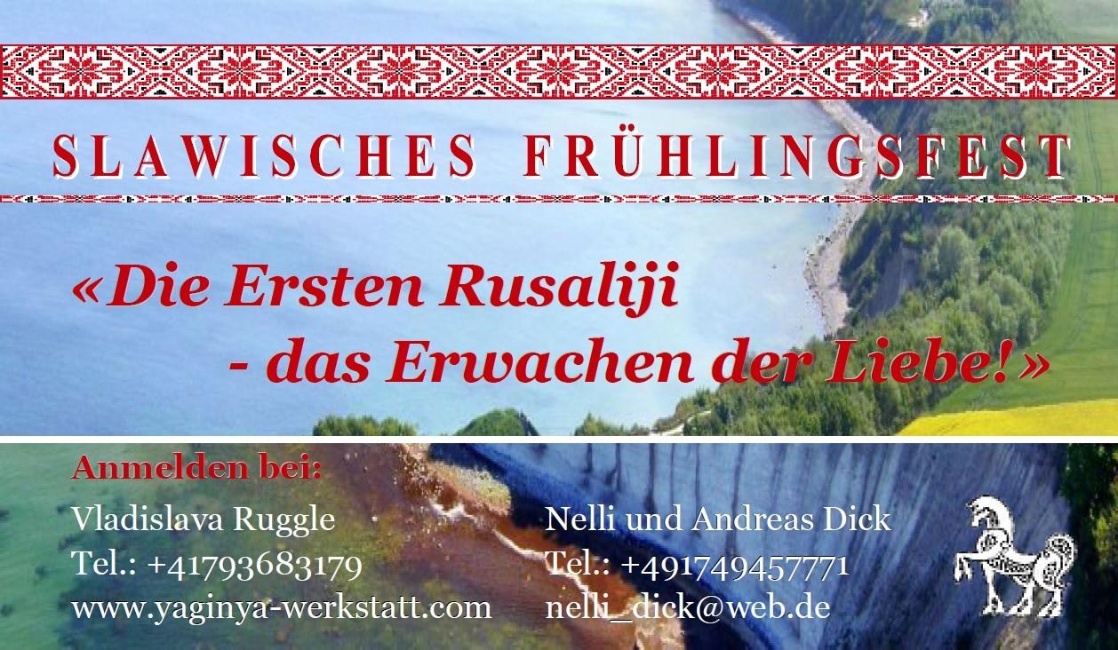 Flyer - Slawisches Fest 16 April 2016 (Arkona)-Seite 0