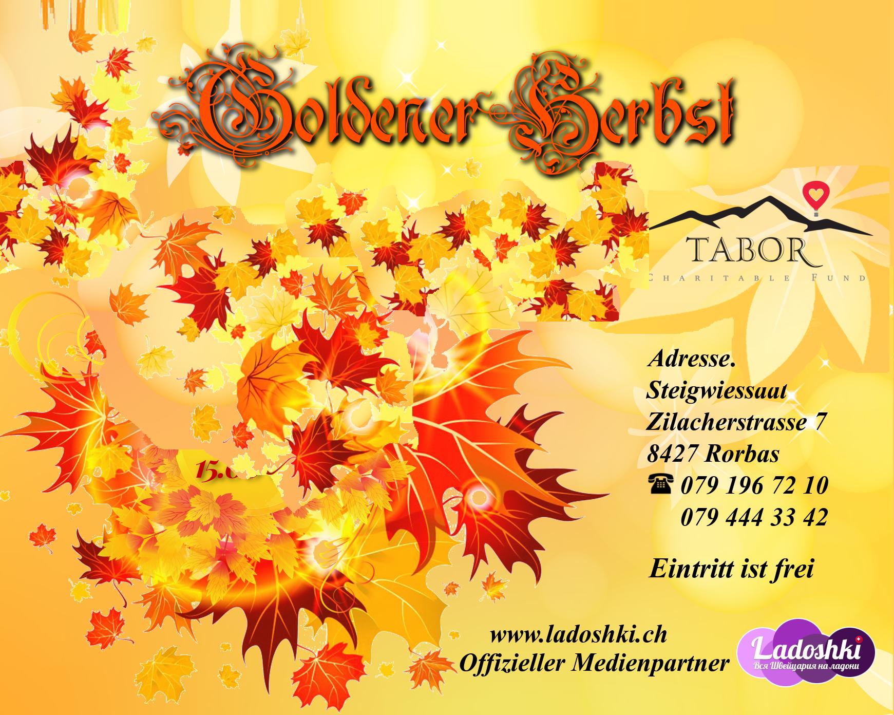 Goldener Herbst 26.11.2016 in Schweiz