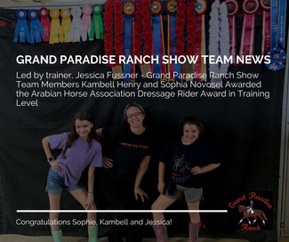 Grand Paradise Ranch - Show Team